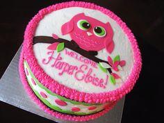Owl Birthday Cake Ideas | Best Owl Birthday Cakes Idea