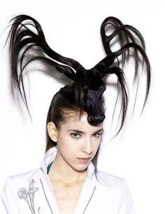 Chapeaux de cheveux en forme d'animaux