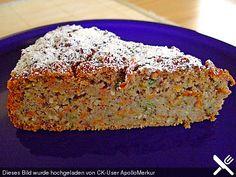 Möhren - Zucchini - Apfel - Kuchen
