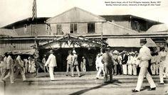Manila Opera House, site of first Philippine Assembly, Manila, 1907 University Of Michigan, Pinoy, Manila, Philippines, Opera House, Louvre, Cinema, Street View, History
