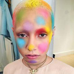 "5,369 Likes, 32 Comments - Lisa Eldridge (@lisaeldridgemakeup) on Instagram: ""#inthemakeupchair @showstudio Powder Pigment Clouds #editorial ... See previous post ❤️…"""