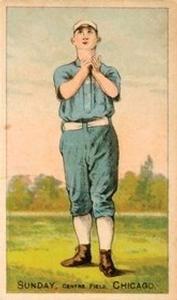 1887 Buchner Gold Coin (N284) #NNO Billy Sunday Front