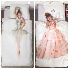 Cool idea for kid's bedroom. Princess and sweet ballerina bed quilt blanket ballet bedcover bedspread