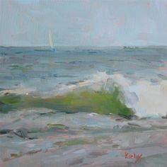"""""""Cool Breeze"""" - Original Fine Art for Sale - © Randall Cogburn"""