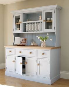 White Kitchen Dresser farmhouse country kitchen dresser | trade me | kitchen + bathroom