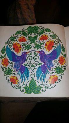 Adult Coloring Secret Garden Coloring Book