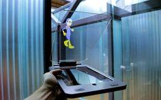 Tecnoneo: Holocube HC Tablet, sistema que transforma tu iPad Air 2 en un proyector holográfico