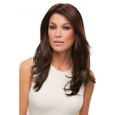 Alessandra   A knockout! Classic style modernized with long, graduated layers. Alessandra has a lace front and a monofilament top.
