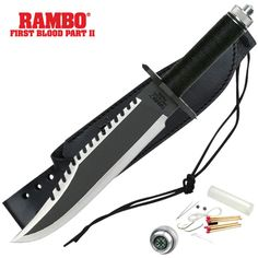 Get the official Rambo Knife! $89.99
