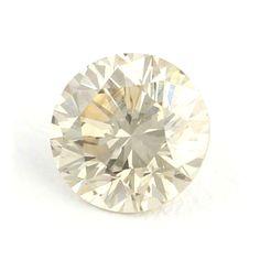 Superb ! 1.11 Ct. Fancy Light Yellow Round Brilliant Cut Natural Loose Diamond !