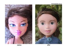 Tree Change Dolls™ Look at how consumers are repurposing and changing the branding of dolls.