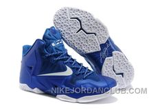 official photos 19657 56444 Buy Nike LeBron James 11 Royal Blue White For Sale Cheap To Buy from  Reliable