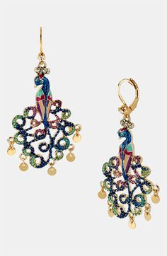 Betsey Johnson 'Morocco Adventure' Statement Earrings