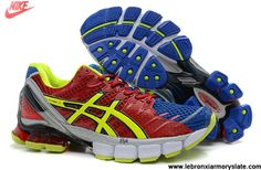 New Asics Kinsei 4 Mens Cym Red Old Royal Volt Basketball Shoes Store