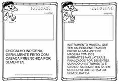 Livrinho Cultura Indígena para ilustrar - Brinquedos | Ideia Criativa - Gi Barbosa Educação Infantil