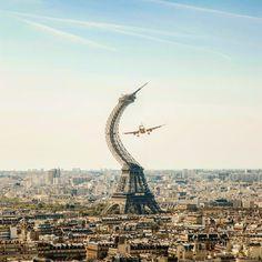 いいね!309件、コメント10件 ― Tom Fabiaさん(@fabiatom)のInstagramアカウント: 「Nope 🛩↪️ #art #graphicdesign #digitalart #paris #france #designinspiration #photo #photoart #nature…」