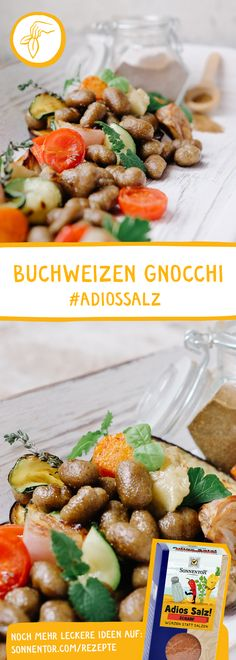 Klassische Gnocchi einmal anders Zucchini, Gnocchi, Kung Pao Chicken, Strawberry, Fruit, Ethnic Recipes, Food, Eggplants, Browning