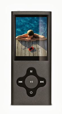 Sylvania 8 GB Video Player with FM Tuner, Built in Camera/Camcorder and Screen (Silver) Mp4 Player, Camcorder, Orange, Building, Graphite, Silver, Video Camera, Graffiti, Buildings