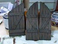 Afbeeldingsresultaten voor Popsicle Stick Fairy Doors