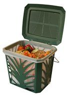 Bio Bags MaxAir II Composting Bucket by Bio Bags. $12.95. Food Waste Composting. Biodegradable PLA. Bio Bags MaxAir II Composting Bucket. If you want fresh food waste for your backyard compost and an odor-free kitchen, try using our Bio Bags 3 gallon waste bags with this ventilated Max Air food waste bucket.   Kitchen food waste can build up bacterial odor quickly when collected in a solid plastic or ceramic pail. The reason is food waste creates heat and moisture...