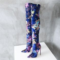 Over The Knee, Sexy Stiletto Stretch High Heel Boots Thigh High Boots, High Heel Boots, Knee Boots, Heeled Boots, High Heels, Chanel Boutique, Shoe Boutique, Ankle Heels, Ankle Booties