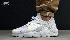separation shoes 41bfb 3c8ab Nike Air Huarache All White   Pure Platinum Chaussures Hommes, Tout, Nike  Huarache,