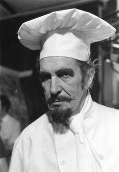 Vincent Price, chef - Rouxde Cooking School