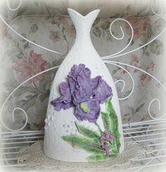 Clay Flower Vase Decor Ceramic Vase Art Vase by afloralaffair