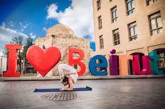 I ❤️ #Beirut  By @BeirutYogaGirl #WeAreLebanon  #Lebanon