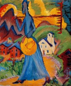 Ernst Ludwig Kirchner, Alpine Life, 1918