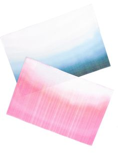 Dip dye woven vinyl placemats from Leif - can I frame these as art?