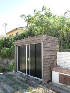 おしゃれな物置 いろいろ | 施工例 | 浜松のエクステリア・外構なら都田建設