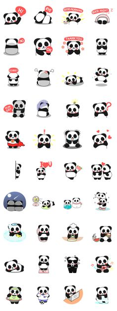 Pandas are the best of all words Panda Bebe, Cute Panda, Panda Wallpapers, Cute Wallpapers, Cute Drawings, Animal Drawings, Panda Art, Panda Panda, Animals And Pets