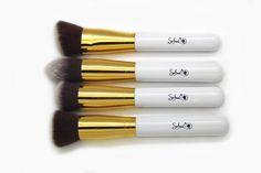 Do you like this Sofeel new High quality 4pcs synthetic hair short makeup blush powder kabuki brush set?