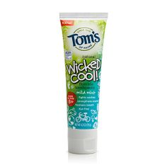 Made-for-kids brands are often full of colouring and artificial dyes, but getting kids to use adult products can be a battle. For just-for-them toothpaste, we turn to Tom's of Maine and their line of all-natural products for kids. For bigger kids who are transitioning from the sweeter flavours but aren't quite ready for stronger adult products, we love their gently flavoured (with real peppermint) paste. It's made sustainably and is cruelty-free, too. Now that's something to smile about.