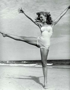 Marylin Monroe. I love that she was never stick thin but always beautiful, you don't have to be thin to be attractive.
