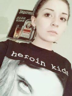 SARAH from the Heroin Kids Family #HeroinKids #grunge #streetwear #swaeter