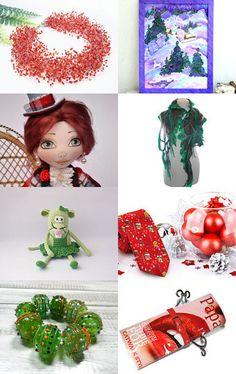 Christmas countdown by Tetiana Otruta on Etsy--Pinned with TreasuryPin.com