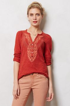 Chennai Henley - anthropologie.com