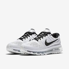 check out 64ab1 bb32c Wholesale Nike Air Max 2017 Grey Black Sports Running Sneakers Shop -   70.89 Nike Shoes 2017