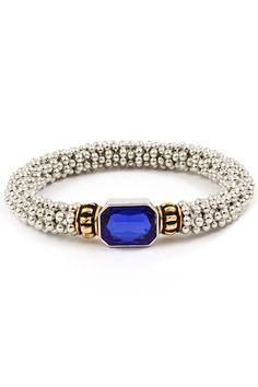 Kate Bracelet in Sapphire on Emma Stine Limited (BB) Ruby Bracelet, Sapphire Bracelet, Sapphire Jewelry, Beaded Bracelets, Fashion Jewelry Necklaces, Jewelry Sets, Jewelry Accessories, Fashion Accessories, Jewlery