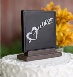 chalkboard wedding cake topper 1000 images about chalkboard wedding inspiration on 12497