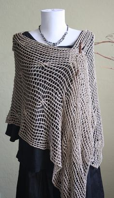 "PDF Pattern: ""Urban Chic"" Scarf  - Knitting"