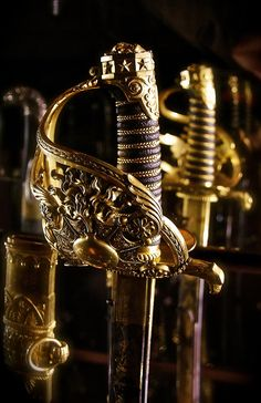 author-jpk: Sabre of a senior officer of the Grenadier Guards that belonged to General BESSIERES Les Invalides (Paris) by Va. Story Inspiration, Character Inspiration, Writing Inspiration, Half Elf, Captive Prince, Black Sails, Pirate Life, Musketeers, Pirates Of The Caribbean