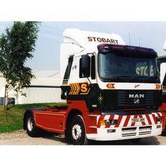Here we have Jean from 1999 - MAN F2000- H1602 - T602 JHH #TBT #ThrowbackThursday #MANtruck #eddiestobart #stobart #trucks #trucking #trucker #transport #vintage #90s #classic