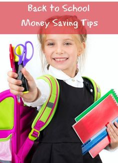 How to Save Money Back to School: Back to School Money Saving Tips @bargainbriana