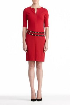 DVF | Saturn Dress in Scarlet, Fall 2012: Rendez-vous