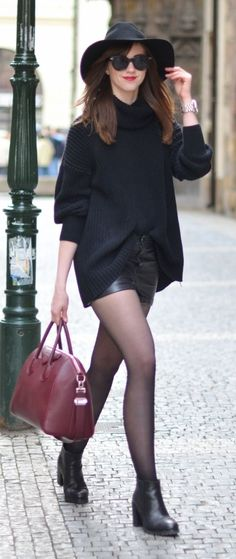 Burgundy Touch Outfit Idea by Vogue Haus