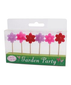 Take a look at this Party Partners Flowers Candle Set by Party Partners on #zulily today!