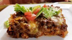 Enchilada Casserole Beef, Homemade Enchilada Sauce, Homemade Enchiladas, Beef Enchiladas, Casserole Recipes, Chicke Recipes, Beef Recipes, Vegetarian Recipes, Cooking Recipes